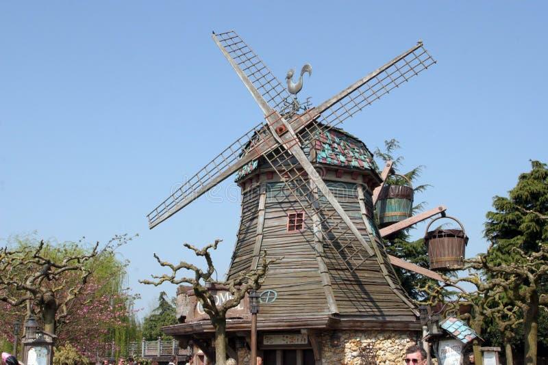 Disneyland i Paris fotografering för bildbyråer