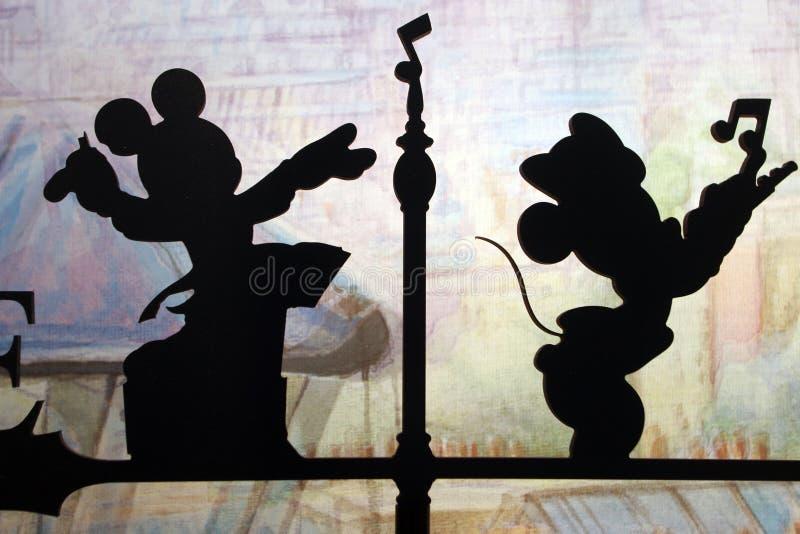 Disneyland i Paris royaltyfri bild