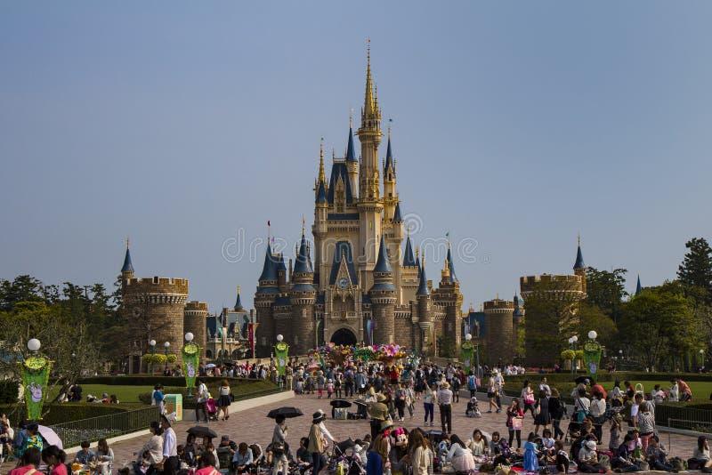 Disneyland kasztel obraz royalty free