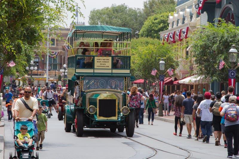 Disneyland Main Street stock afbeelding