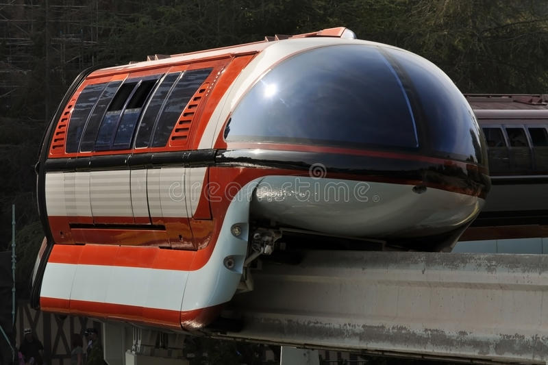 disneyland monorail obrazy royalty free