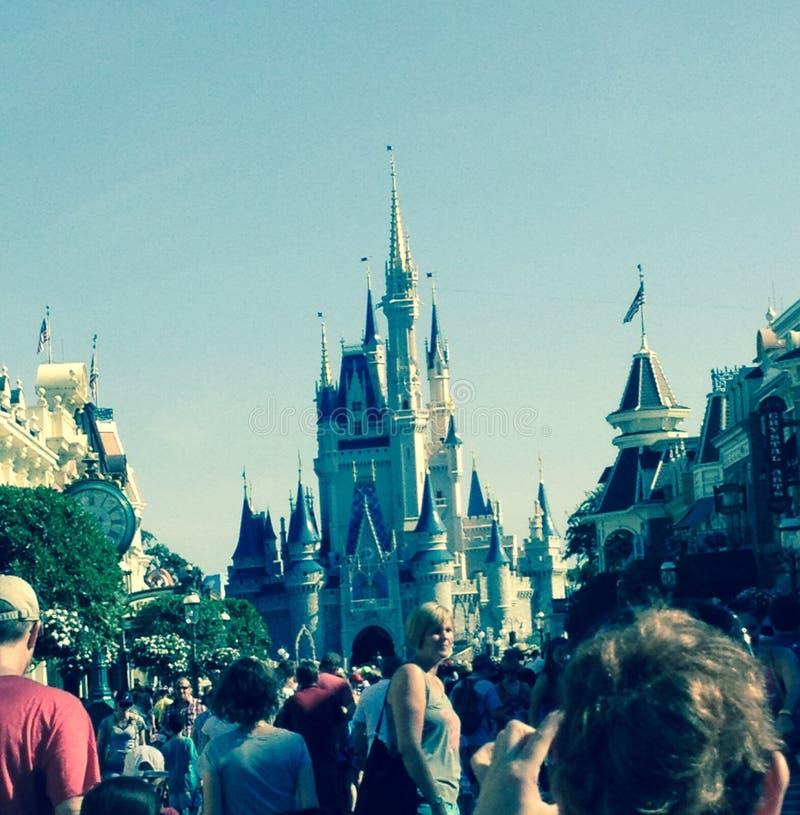 Disneyland Orlando fotografering för bildbyråer