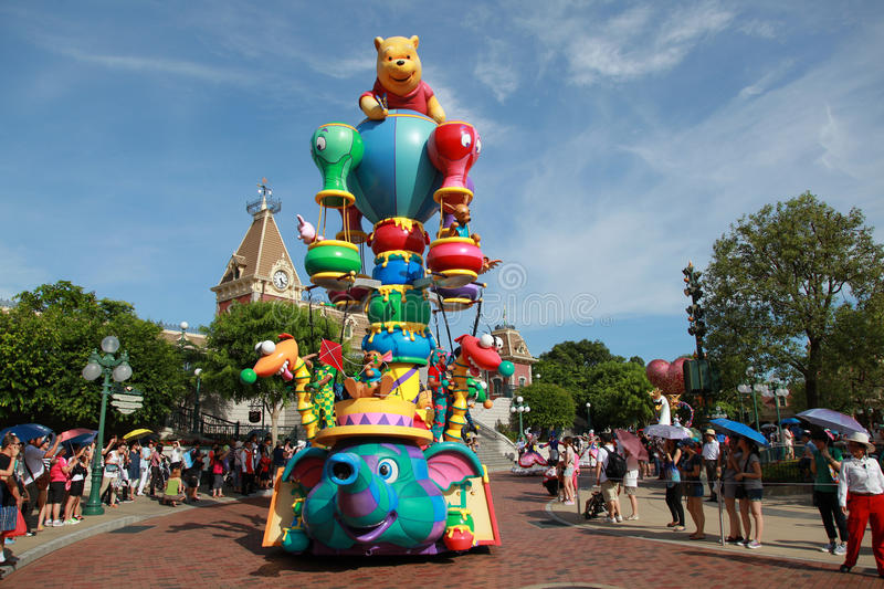 Download Disneyland Parade editorial stock photo. Image of enjoyment - 22667043