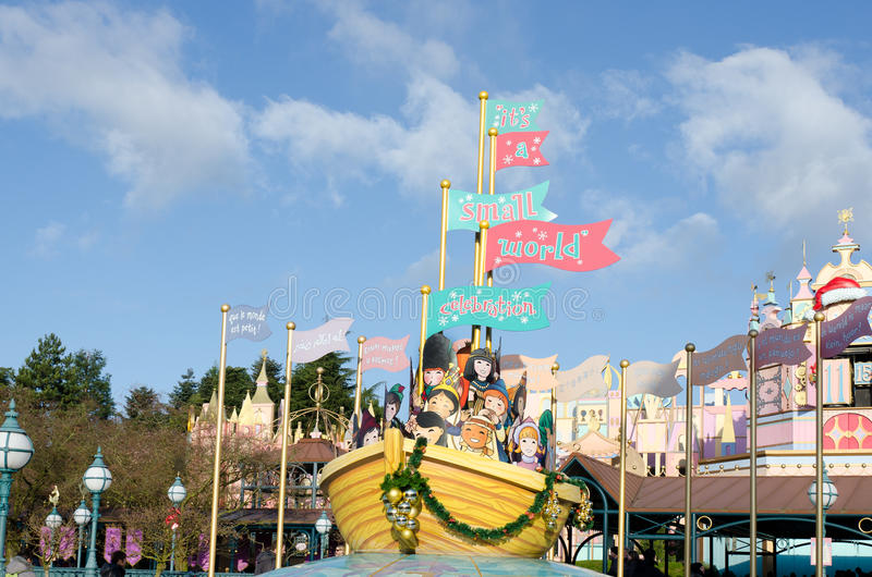 Disneyland Parigi in Francia immagine stock libera da diritti