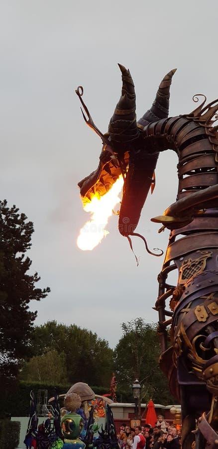 Disneyland Parigi quindicesimo Anniversarry fotografie stock