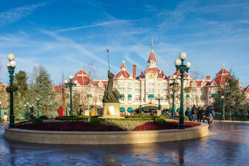 Disneyland Parigi quindicesimo Anniversarry immagini stock