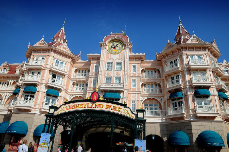 Disneyland Paris Photo éditorial