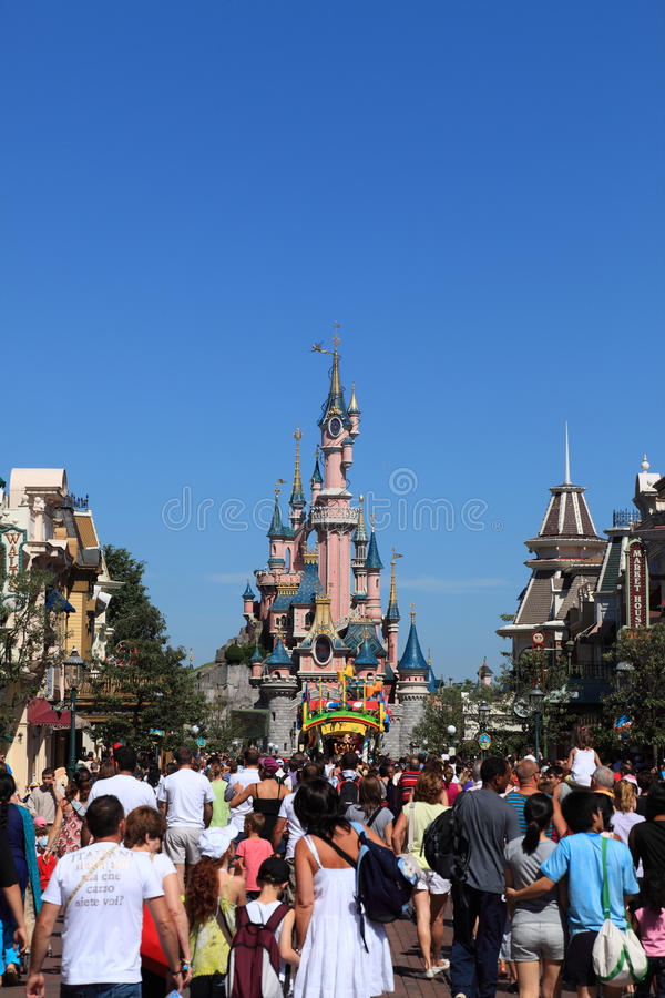 Disneyland Paris stock photos