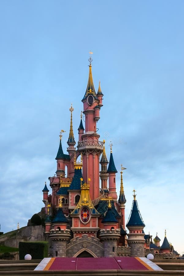 Disneyland Paris royaltyfria foton