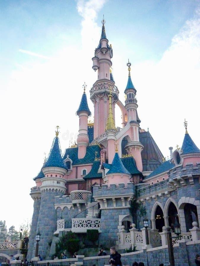 DISNEYLAND PARIS Prinzessin Castle stockbild