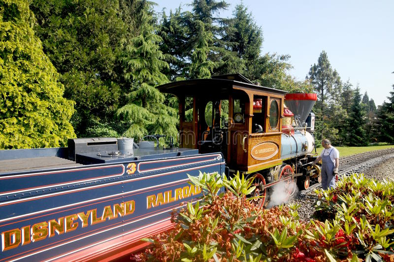 Download Disneyland Paris - Railroad A Replica Editorial Image - Image: 15194375