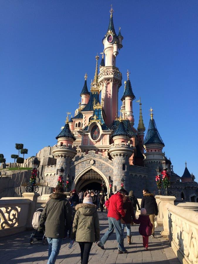 Disneyland Paris torn arkivbild