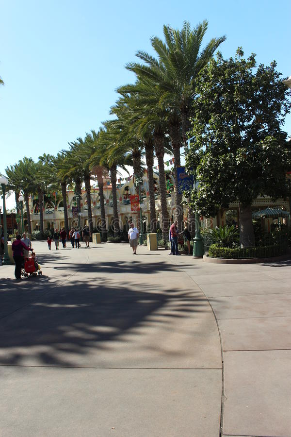 Disneyland-Park stockfotos