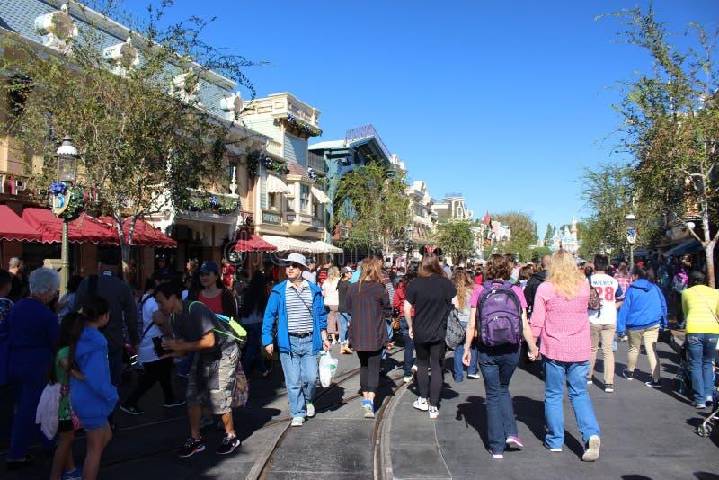 Disneyland-Park lizenzfreies stockbild