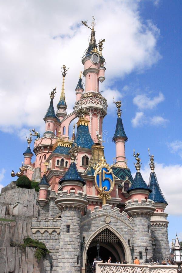 Disneyland Park dichtbij Parijs stock foto