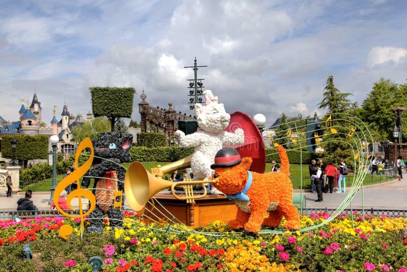 Disneyland parkerar royaltyfria foton