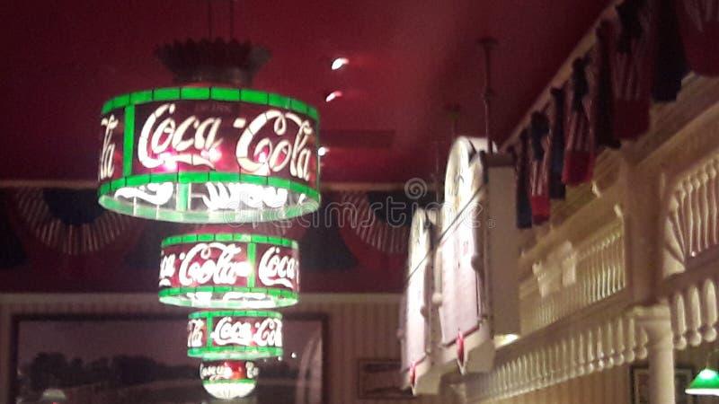 Disneyland Paryż koka-kola zdjęcie royalty free