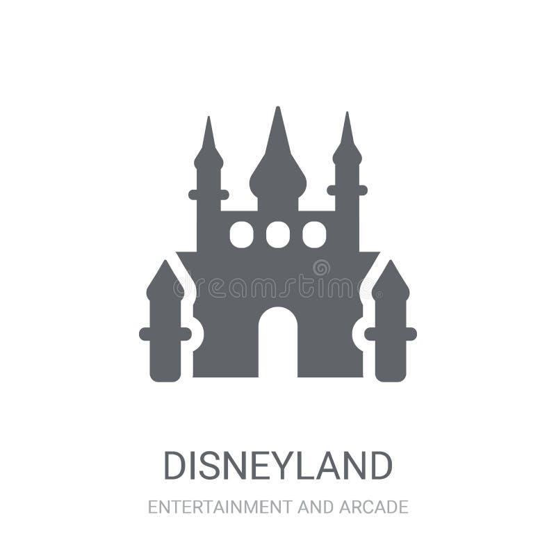 Disneyland pictogram  royalty-vrije illustratie
