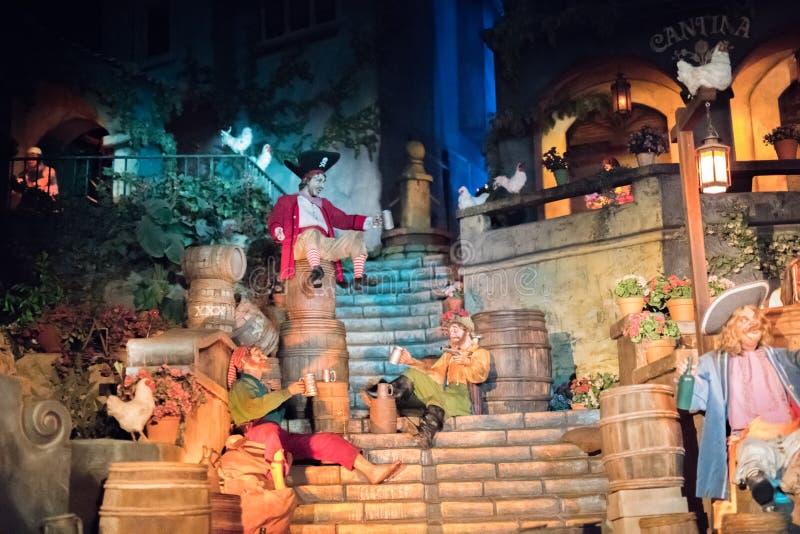 Disneyland Resort -Themapark in Anaheim, Californië stock foto