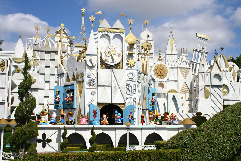 Download Disneyland Small World editorial stock photo. Image of ride - 18811743