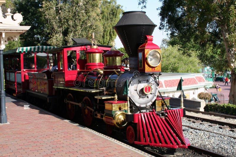 Download Disneyland Train editorial stock photo. Image of railroad - 24630988