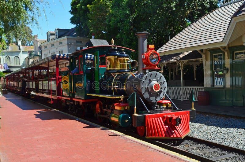 Download Disneyland train editorial stock photo. Image of steam - 25793173