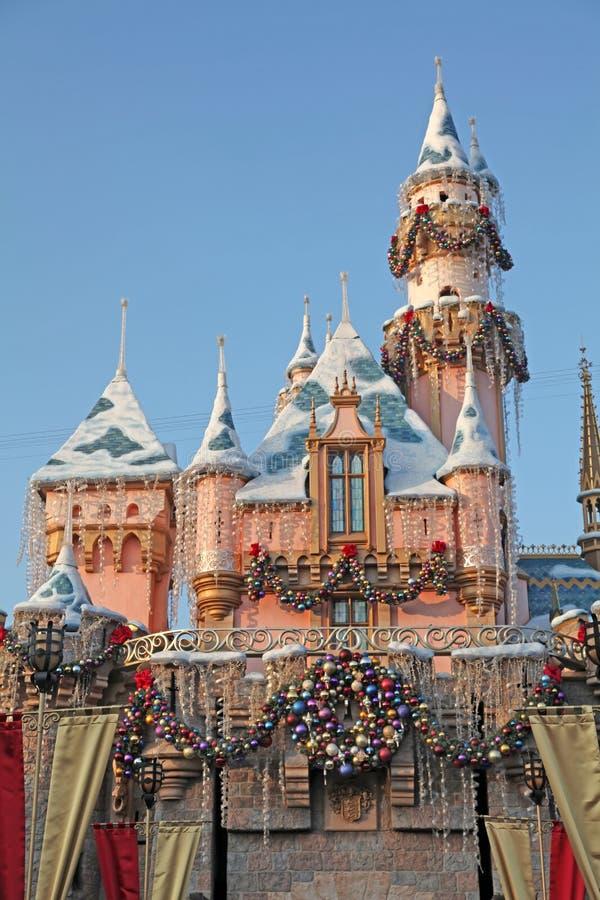 Disneyland Vakantiekasteel stock foto's