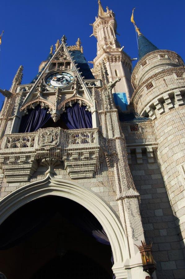 Disneylands magiskt slott Orlando Florida royaltyfri foto