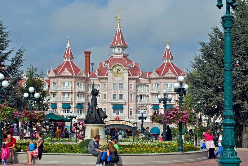 Disneylend公园。 免版税库存图片