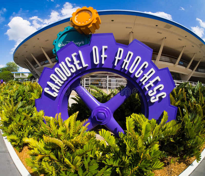 Disneys Carousel of Progress. Walt Disney world Carousel of Progress royalty free stock image