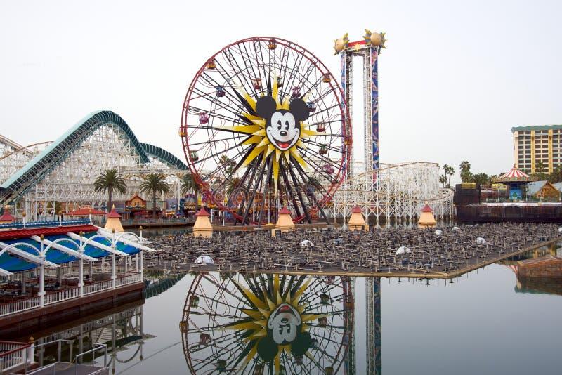Disneys Kalifornien-Abenteuer lizenzfreie stockfotografie