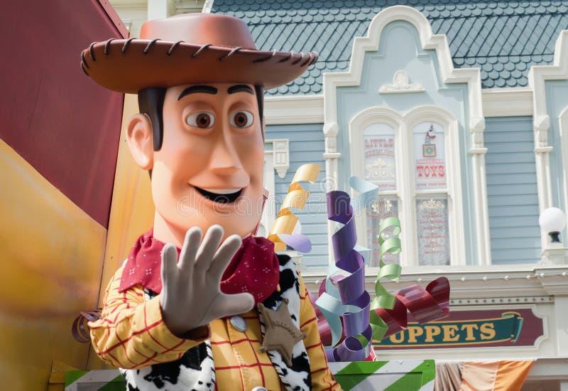 Disneys magisches Königreich stockfotografie