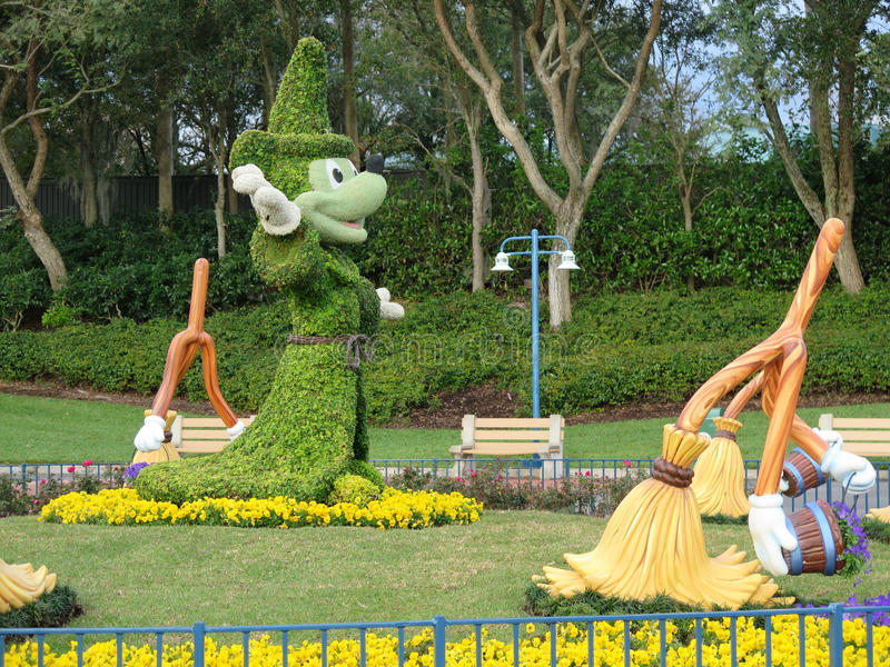 Disneys Mickey Mouse at hollywood studios entrance. Febrary 2015 stock photography