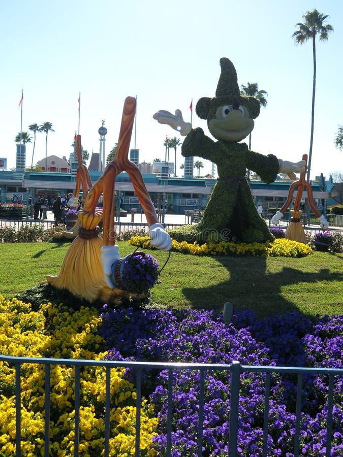 Disneys Mickey Mouse at hollywood studios entrance. Febrary 2015 royalty free stock image