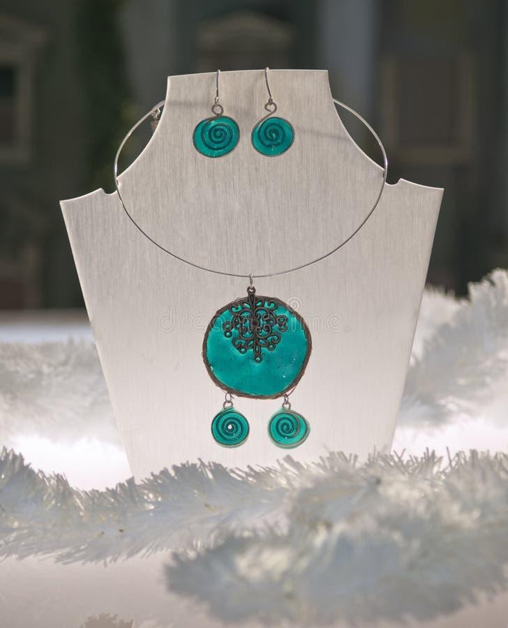Disolay juwelen stock foto's