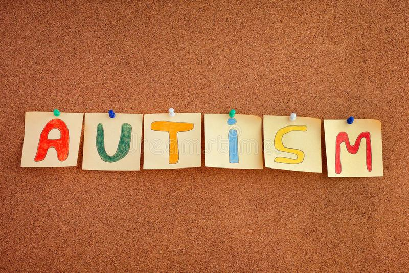 Disordine di spettro di autismo immagini stock
