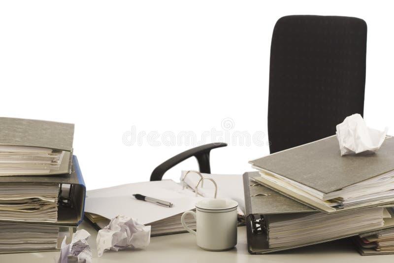 Download Disorganized desktop stock image. Image of folder, paper - 1828069