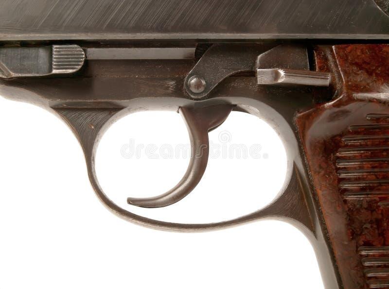 Disparador de arma fotografía de archivo libre de regalías