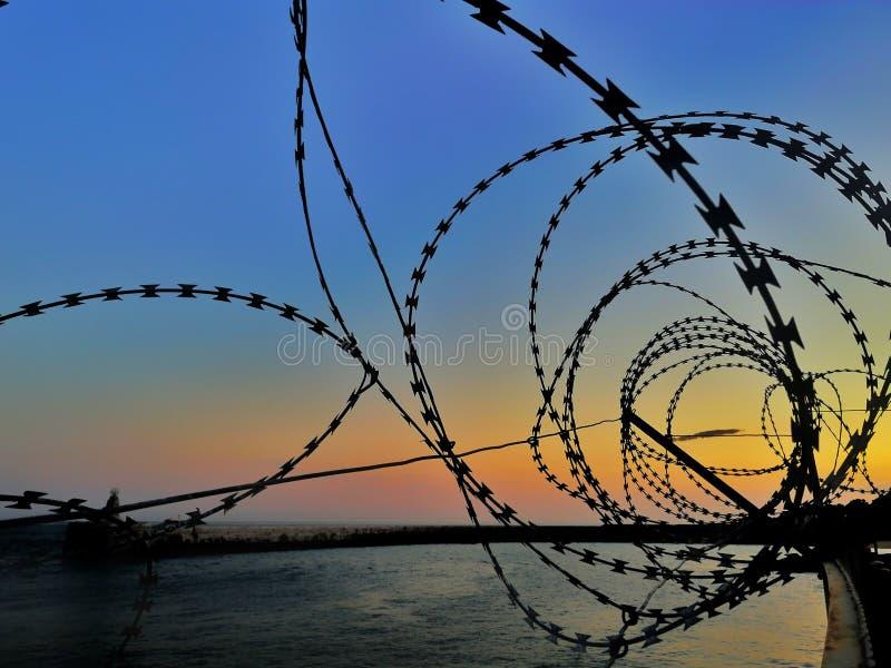 Disparaissez le lever de soleil images libres de droits