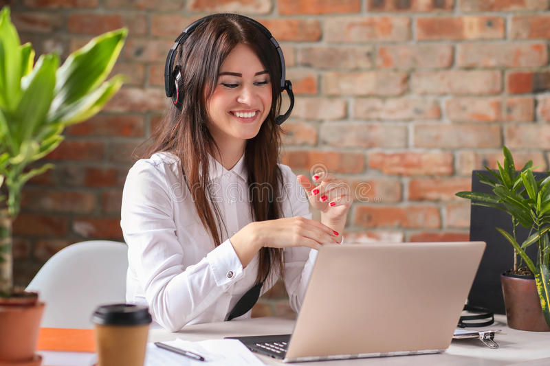 Dispatcher royalty free stock photography