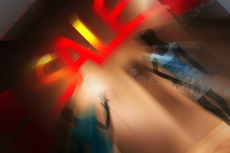 dispay окно магазина сбывания способа стоковое изображение rf