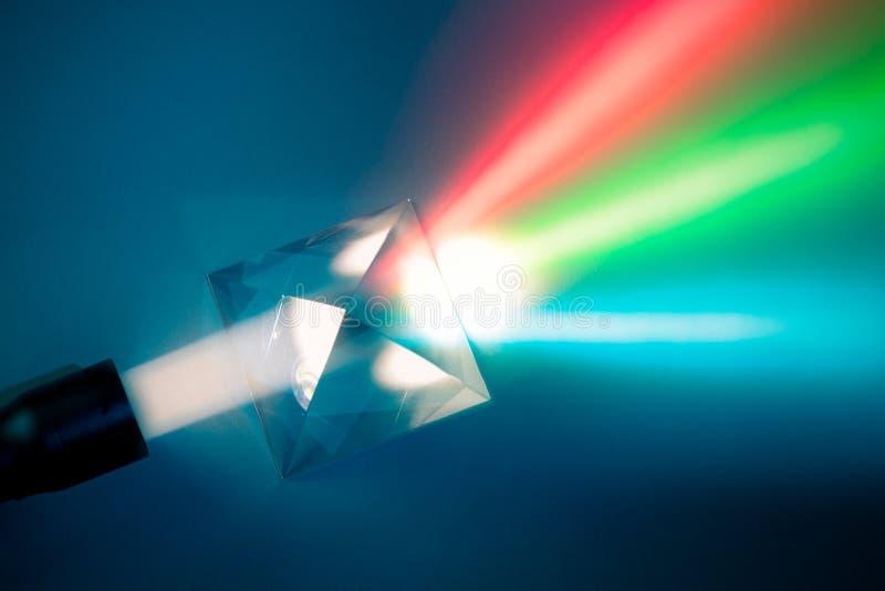 Dispersion de lumière normale photographie stock