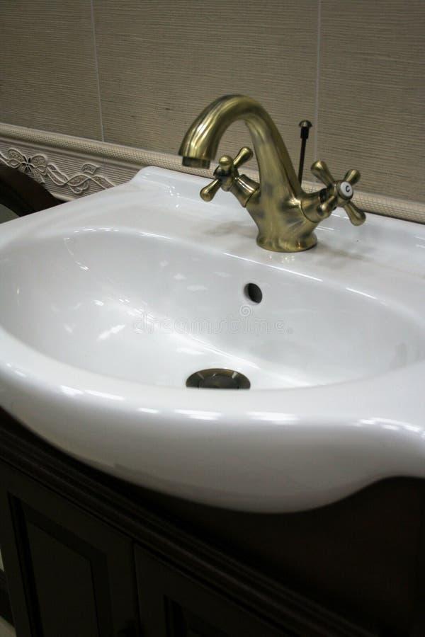 Dispersore della stanza da bagno immagini stock