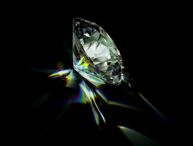 Dispertoin diamantfinal arkivfoto