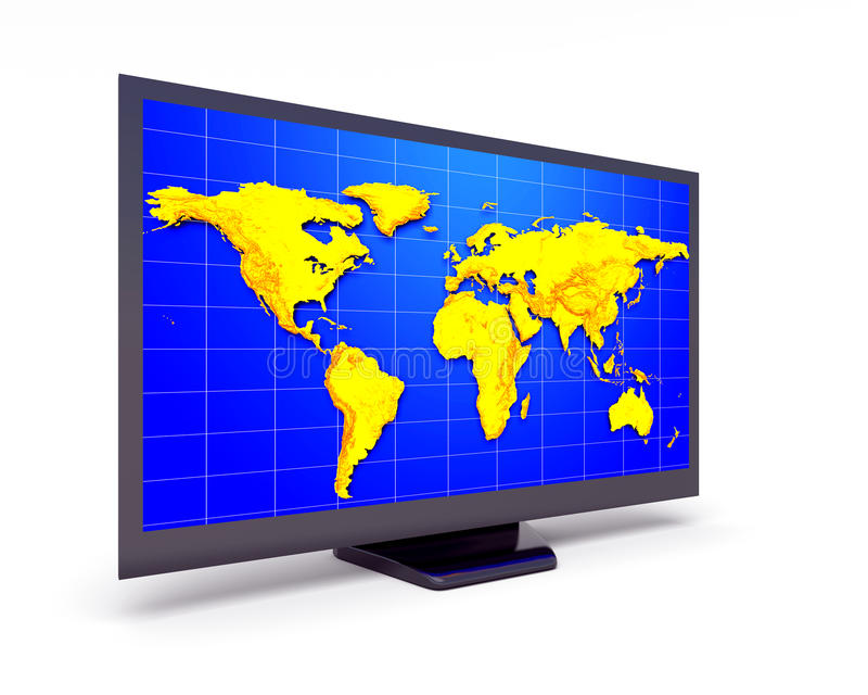 Download Display stock illustration. Image of media, home, environment - 26924559