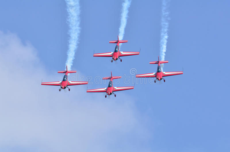 Display Aircraft four stock images