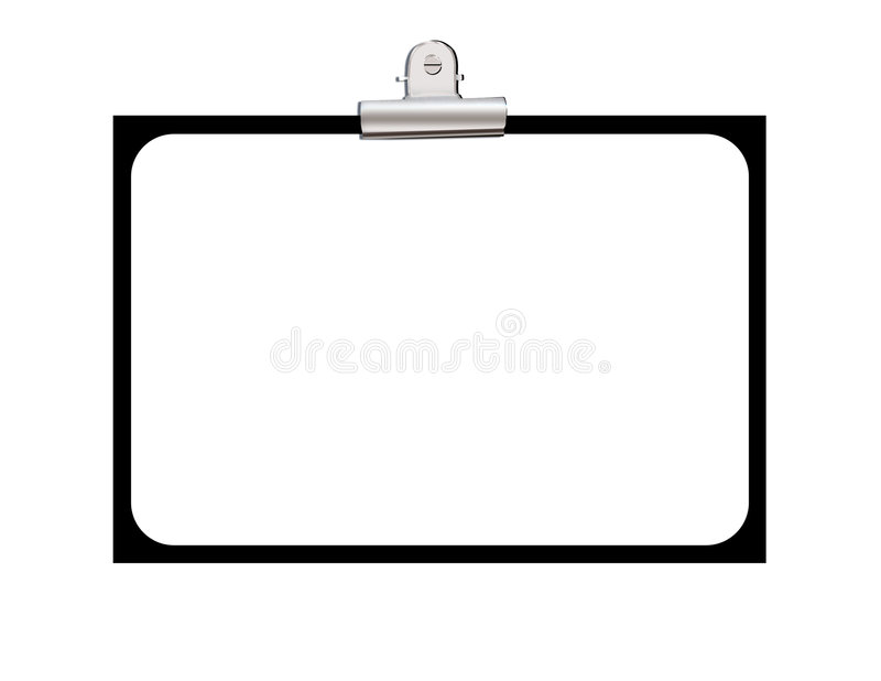 Display Board Royalty Free Stock Photo