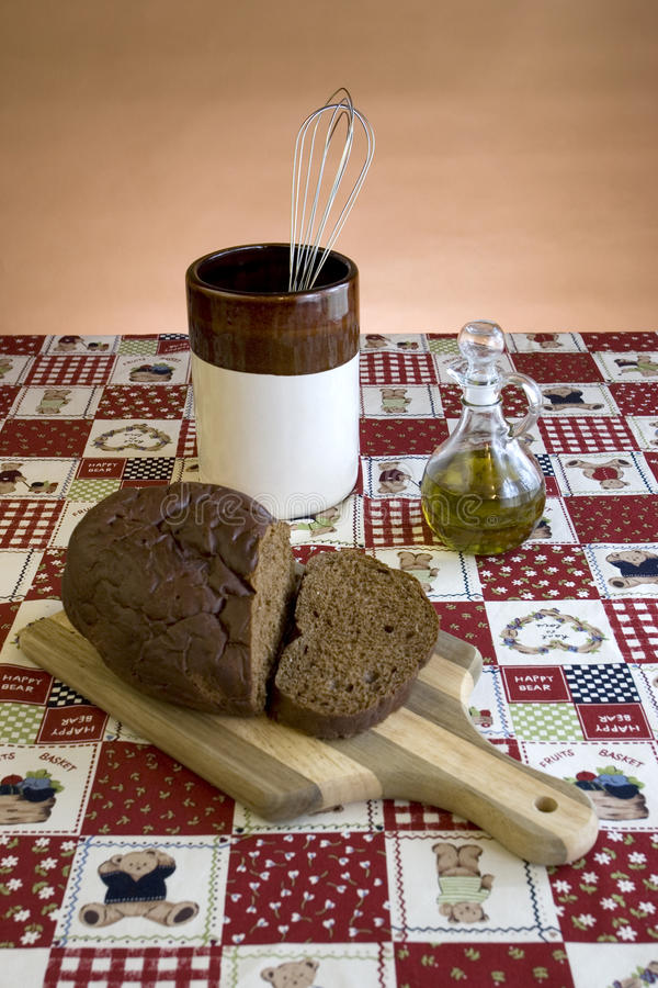 Download Display Of Bread On A Cutting Board. Royalty Free Stock Photo - Image: 11497945