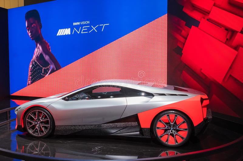 On display during Los Angeles Auto Show stock images