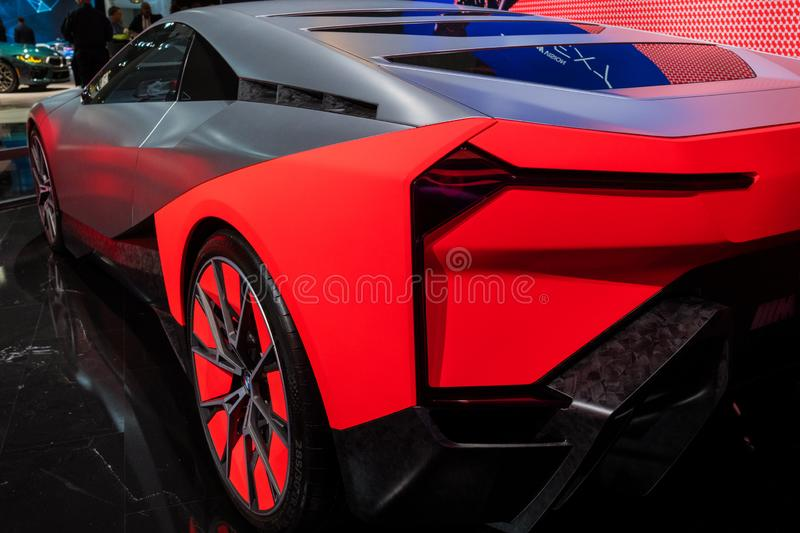 On display during Los Angeles Auto Show royalty free stock image